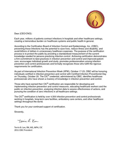 Service Letter For Nurses best photos of letter of recognition template service