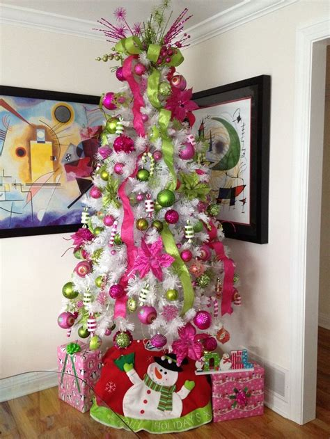 white tree with pink lights decorative white trees my white tree with
