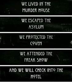 How Many Seasons Are There Of House Season 5 Pics Ahs Seasons