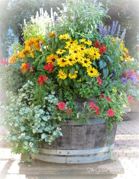 flower planter ideas 8 stunning container gardening ideas home and garden