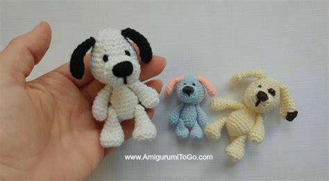 free mini amigurumi crochet patterns miniature puppy amigurumi to go