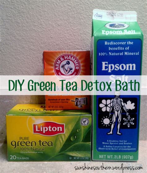 Best Ingredients For Detox Bath by Green Tea Detox Bath Southern