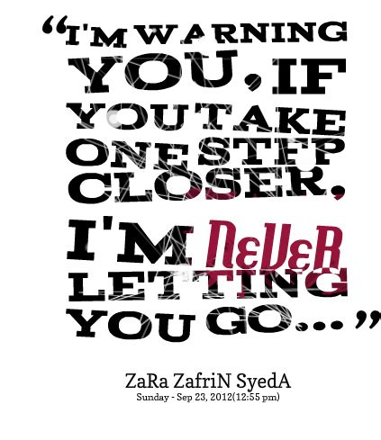 I Am Letting Go Quotes