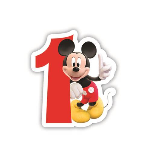 selimut mickey mouse 1 rođendanska svjećica mickey broj 1