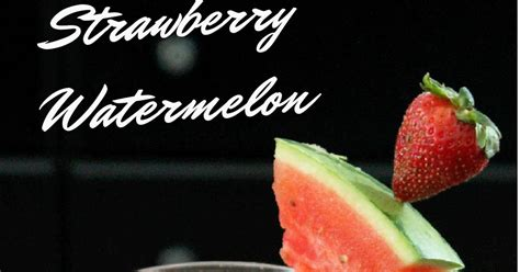 Strawberry Watermelon Flush Detox Water by Not Quite A Vegan Strawberry Watermelon Flush