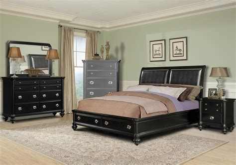 Black King Bedroom Set by Black King Size Bedroom Sets Home Furniture Design