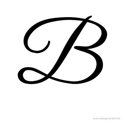 tattoo font letter b cursive b for amy mother s day pinterest cursive and