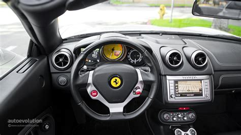 ferrari dashboard ferrari california review autoevolution