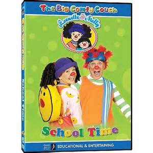 the big comfy school time dvd canada at