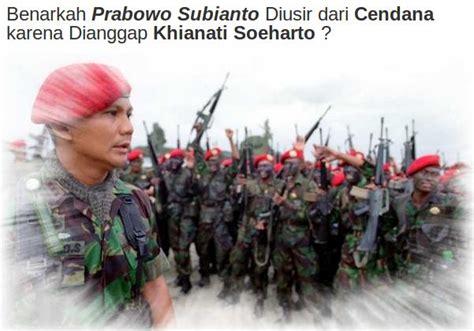 Prabowo Bondan prabowo dan isyu penculikan dan kerusuhan mei 1998