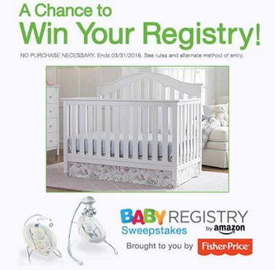 Amazon Baby Registry Sweepstakes - fisher price sweepstakes amazon baby registry granny s giveaways