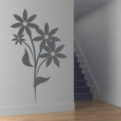 Floral Wall Stickers Floral Flower Wall Art Decals Wall Stickers Transfers Ebay