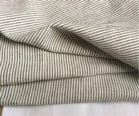 Grey Ticking Stripe Duvet Cover by New To Customlinenshandmade On Etsy Grey White Ticking