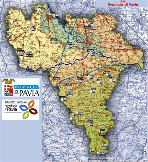 cartina provincia pavia sosta in provincia di pavia lombardia