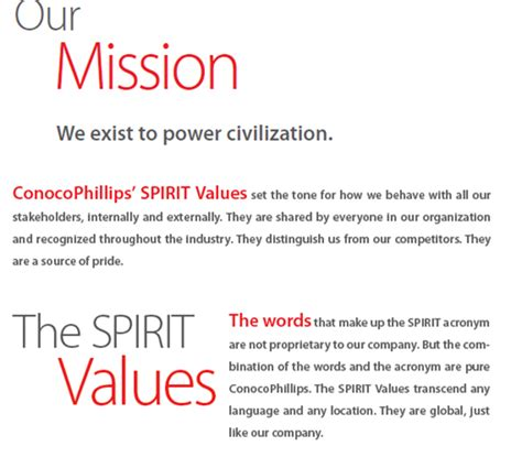 templates for vision and mission statements vision and mission statements best template collection