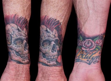 skull tattoo wrist 40 wrist cover up tattoos