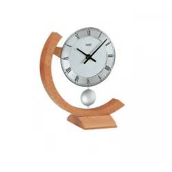 Desk Clock Ams 163 Wooden Arc Desk Clock Ams Clocks