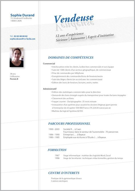 cv design hotellerie exemple de cv vendeuse lettre de motivation 2017