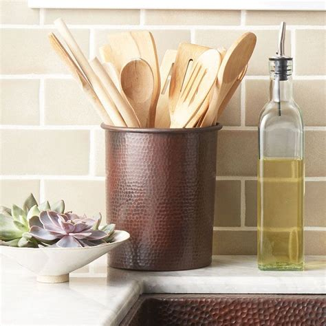 Kitchen Utensil Storage Ideas 1000 Ideas About Kitchen Utensil Holder On Pinterest Utensil Holder Kitchen Utensils And