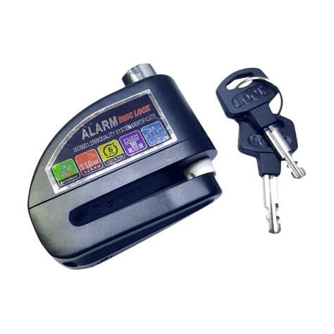 Alarm Fortuna jual fortuna gembok alarm disc cakram motor hitam harga kualitas terjamin blibli