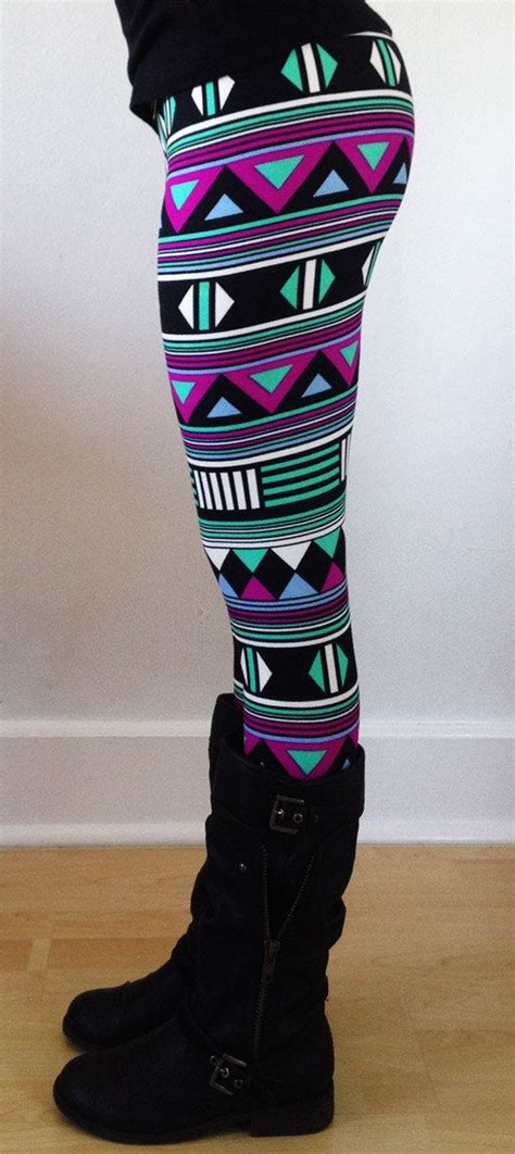 aztec pattern leggings outfit for 2 christmas leggings womens leggings yoga