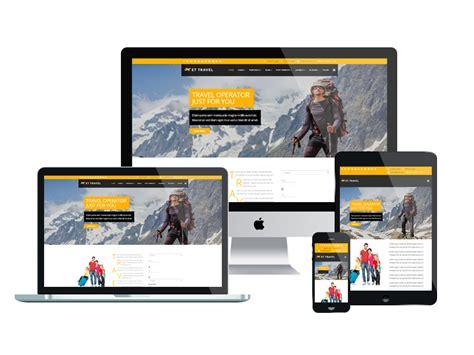 Joomla Templates Responsive by Et Travel Free Responsive Travel Joomla Templates