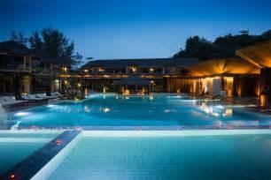 Blue And White Dining Room Bundhaya Villas Koh Lipe Satun Thailand Official Website