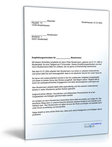 Bewerbung Formulierung Betriebsbedingte Kundigung Empfehlung Mitarbeiter Vorlage Zum
