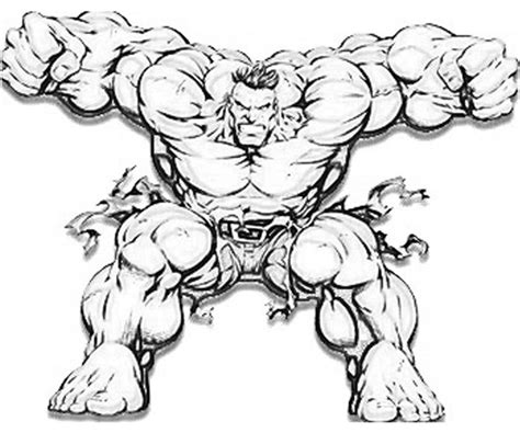coloring pages of red hulk marvel vs capcom hulk power yumiko fujiwara