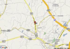 map of inn cartersville cartersville