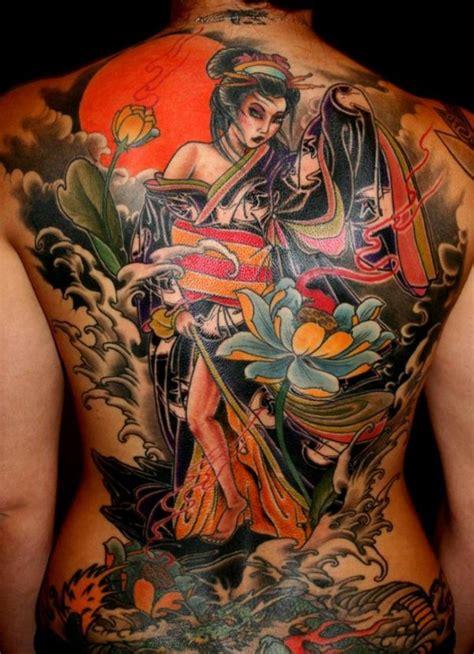 tattoo japanese oriental tattoo gueixa inspiradora loucosportattoo