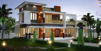modern home design 3000 square 2300 sq ft kerala model house architecture amazing