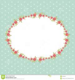 chic vintage clip art vintage floral frame with roses in shabby chic style