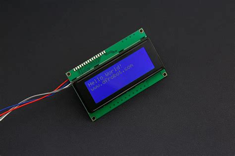 Update Monitor Lcd i2c 20x4 2004 lcd display for arduno dfrobot