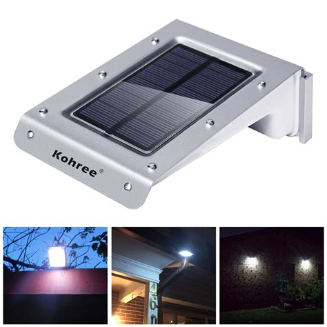 Motion Sensor Led Light Outdoor Solar Power Motion Sensor Outdoor Garden Security Gutter 20 Led Flood Light Ebay