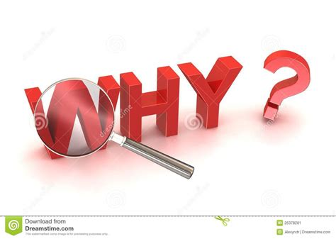 Reason For Stock Photo Why Reason Cause Source Search Button Stock Illustration Illustration Of Object