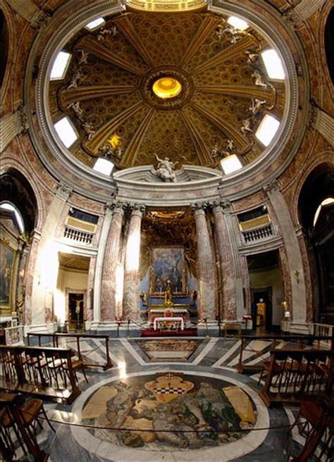 sant andrea al quirinale interno roma barocca
