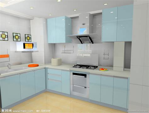 Repainting Kitchen Cabinets 3d 3d nipic com