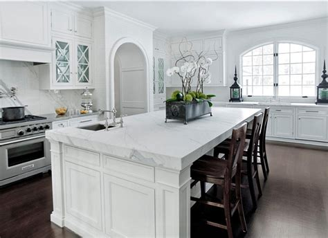 white marble kitchen island 60 inspiring kitchen design ideas home bunch interior design ideas