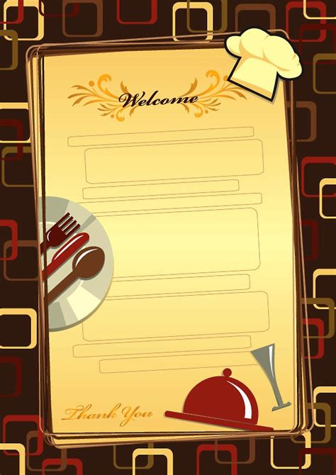 catering menu templates free 25 free restaurant menu templates