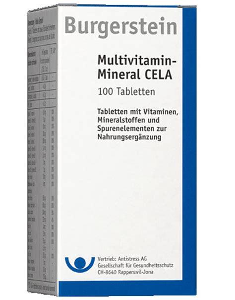 wann zink einnehmen 10 rabatt auf burgerstein multivitamin mineral cela