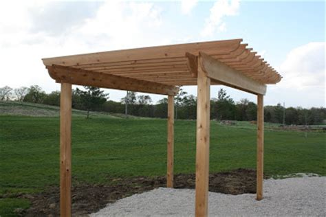 pergola rafter end designs how to build a pergola the hansen family
