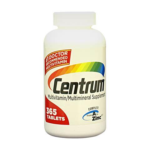 Vitamin Tablet centrum bottle