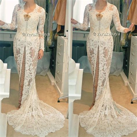 Kebaya Pengantin Modern Duyung 25 best ideas about kebaya wedding on capes