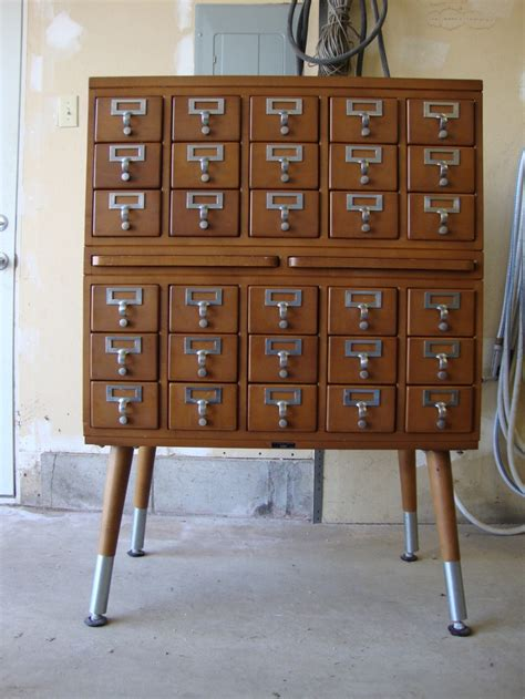 Worden Furniture by Vintage Library Card Catalog Vintage Industrial Worden