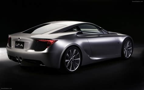 lexus sport car lfa lexus lf a concept 2007 widescreen exotic car pictures