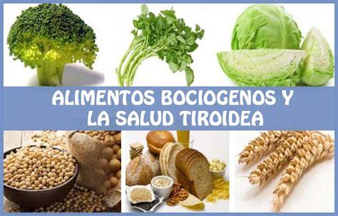 alimentos ricos en yodo para hipotiroidismo alimentos bociogenos o goitr 243 genos problemas con el yodo