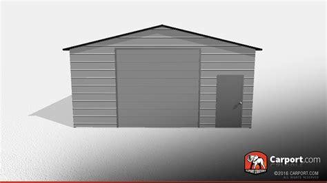 Carport Cover 5735 by Wide Steel Garage 22 X 36 X 10 Shop Metal