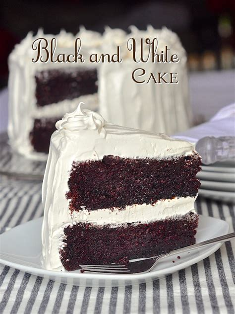 Link Black And White Chocolate Cake by Black And White Cake Rock Recipes