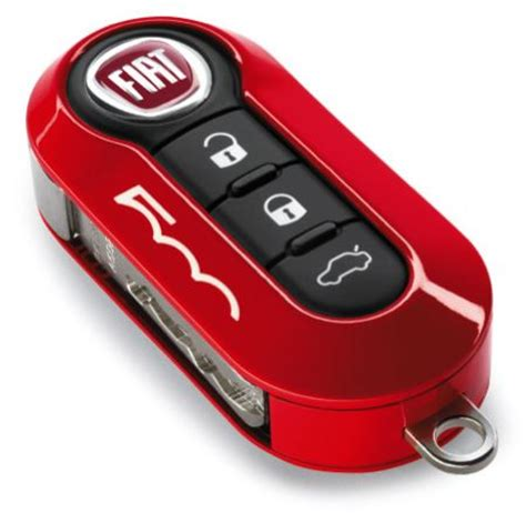 fiat 500 key covers official fiat uk store fiat abarth 500 500l gloss coral red two piece key cover